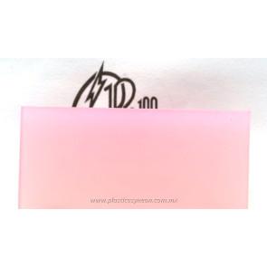 Lámina de acrílico rosa pastel