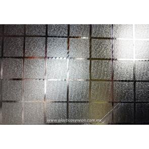 Lámina de plástico texturizado Ajedrez