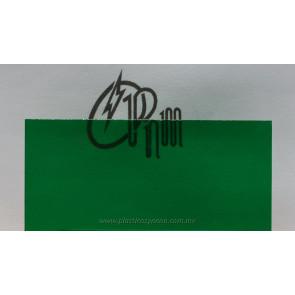 Acrilico verde transparente