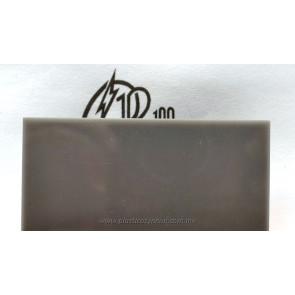 Lámina de acrílico gris traslúcido