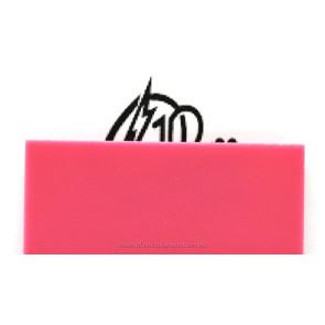 Lámina de acrílico rosa tráslucido