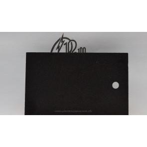 Lámina de PVC espumado negro